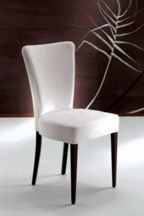 Выбираем белые стулья в квартиру