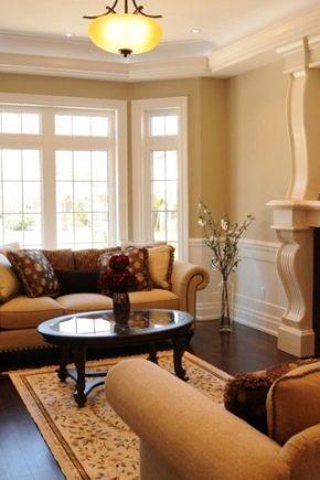 Дизайн гостиной комнаты площадью 17 кв. м: правила планировки и зонирования зала