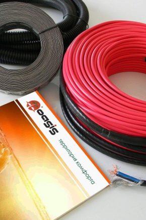 Особенности выбора кабеля для теплого пола