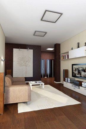 Ремонт зала в квартире площадью 18 кв. м: планировка и зонирование пространства