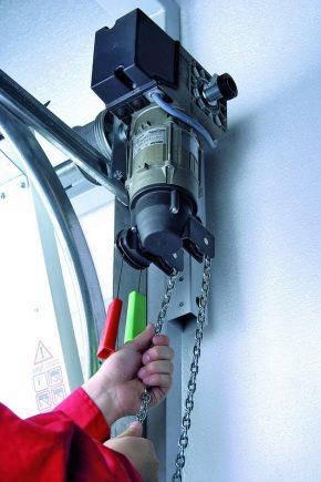 Тонкости выбора привода для гаражных ворот