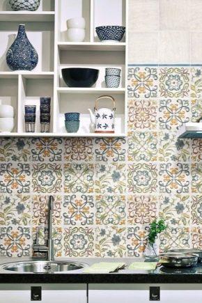 Керамическая плитка с орнаментом: стильные идеи в интерьере