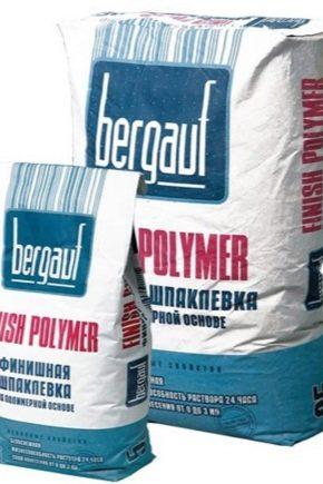 Полимерная шпаклевка: преимущества и недостатки