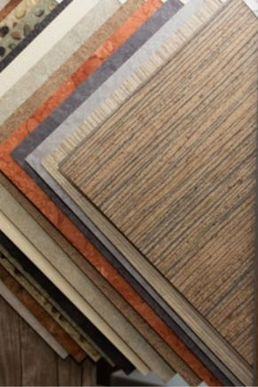 Процесс укладки кварцвиниловой плитки