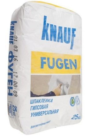 Шпаклевка Knauf Fugen: плюсы и минусы