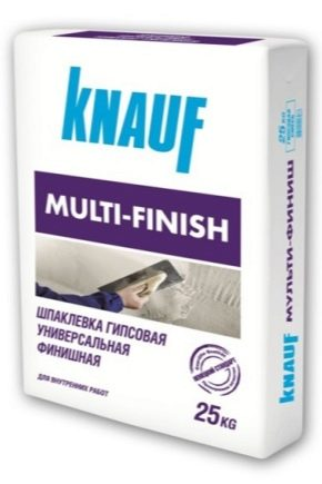 Финишная шпаклевка Knauf: состав и технические характеристики