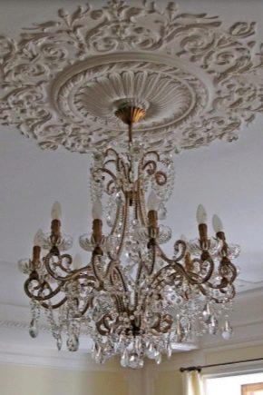Гипсовые потолки: особенности конструкций и красивые примеры