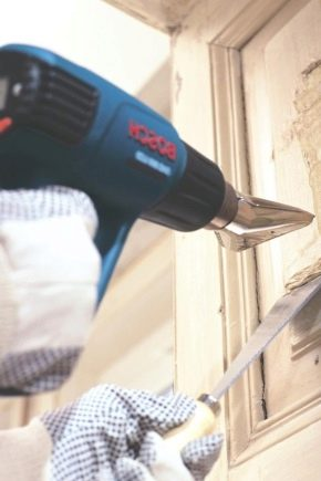Как быстро удалить старую краску со стен?