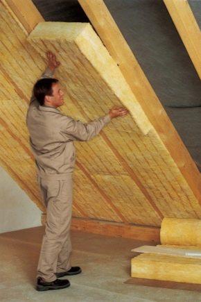 Как утеплить мансарду изнутри, если крыша уже покрыта?