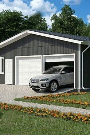 Каким должен быть размер гаража на 2 машины?