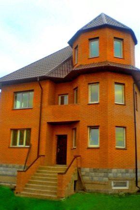 Красивые проекты кирпичных домов с мансардой