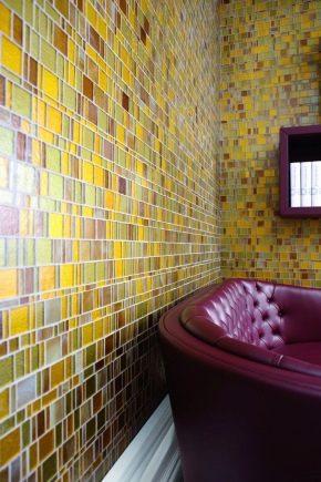 Плитка-мозаика на сетке: особенности выбора