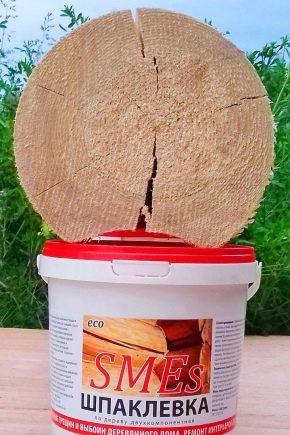 Шпаклевки по дереву: виды и особенности применения