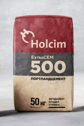 Цемент марки 500 характеристики