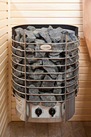 Электропечь для бани: выбираем оптимальный вариант