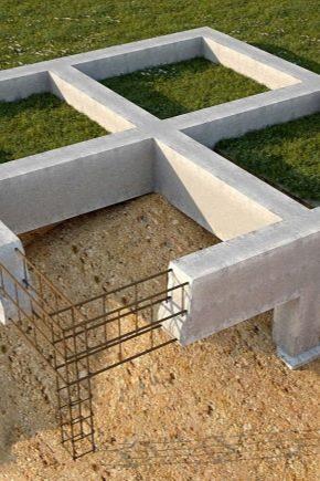 Как правильно сделать фундамент для бани?