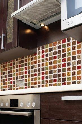 ПВХ-панели с мозаикой в дизайне интерьера