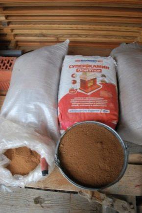 Смеси для кладки печи из кирпича: виды и характеристики