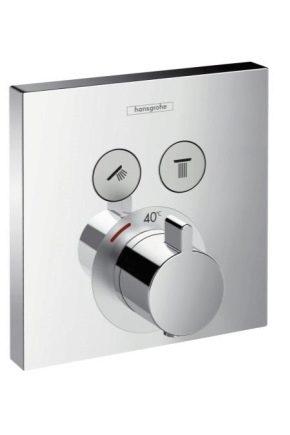 Термостатические смесители: разновидности, устройство и подключение