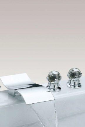 Смеситель для ванной: устройство водопроводного крана
