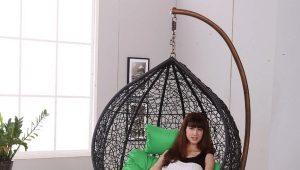 Детские напольные качели для дома
