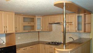 Размеры барной стойки на кухне