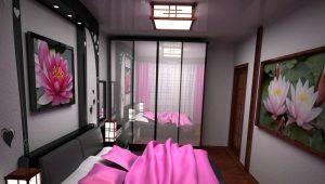 Шкаф-купе в спальню и его внутренне наполнение