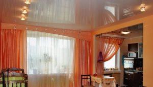 Тюль на кухню для балконной двери