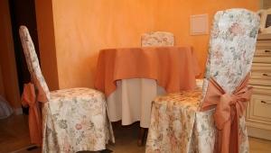 Чехлы для стульев на кухню