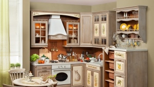 Декупаж кухонной мебели