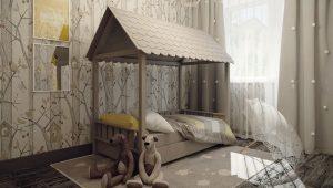Детская кровать для годовалого ребенка
