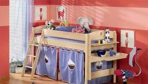 Детская кровать для мальчика 5 лет