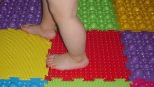 Детский массажный коврик