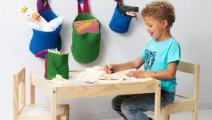 Детский стульчик и столик своими руками