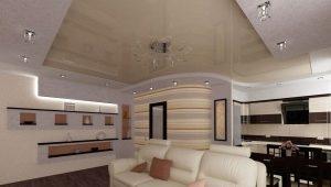 Дизайн кухни-гостиной площадью 25 кв. м
