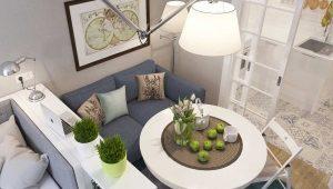 Дизайн квартиры-студии площадью 40 кв. м