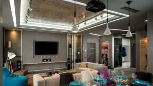 Дизайн квартиры-студии средней площади
