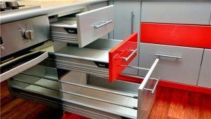 Доводчики для кухонных шкафов