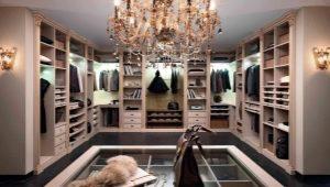 Где можно расположить гардеробную