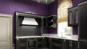 Глубина кухонных шкафов
