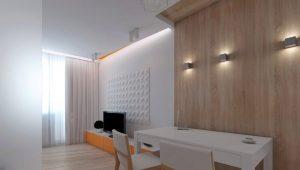 Интерьер студии площадью 26 кв. м