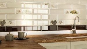 Итальянская плитка на фартук для кухни