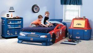 Кровать-машина для мальчика