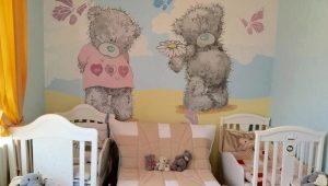 Кроватка для новорожденных двойняшек