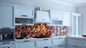Кухонный фартук на основе ХДФ