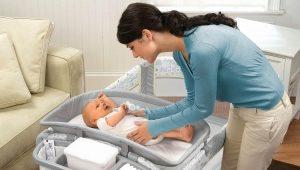 Манеж-кроватка для новорожденных
