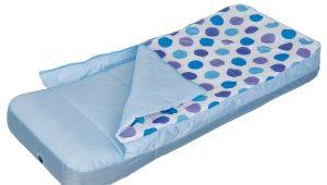 Надувная детская кровать