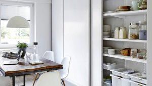 Наполнение кухонных шкафов