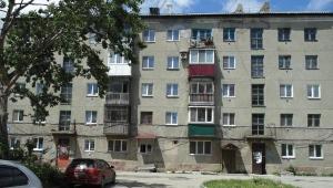 """Остекление балконов в """"хрущевке"""""""