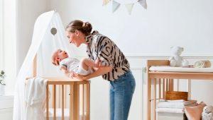 Овальные кроватки для новорожденных